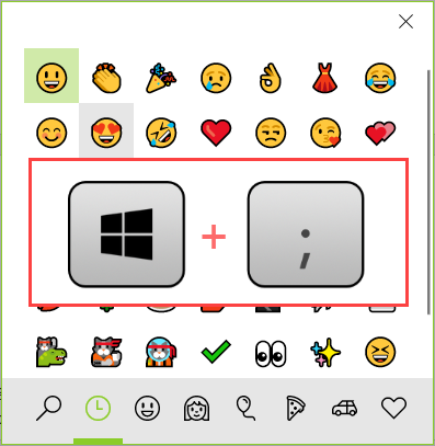 How To Use Emoji For Windows 10 With Shortcut Or Online Source