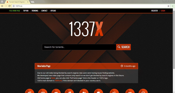 1337x is best ExtraTorrent Alternatives.