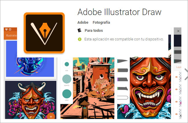 Adobe Illustrator Draw is one of the best free Drawings Apps For Creative Android Users.