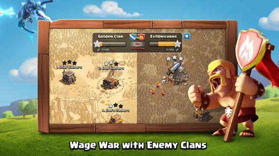 Clash of Clans is one of best iOS Multiplayer Games for iPhone & iPad.