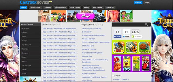 Cartoon Movies HQ is one of the best websites to Watch Cartoons and Animes Online for Free.