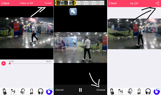 How to create Boomerang from Existing Video in iPhone
