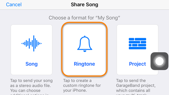 Set Voice Memo as iPhone Ringtone without Computer - Using GarageBand