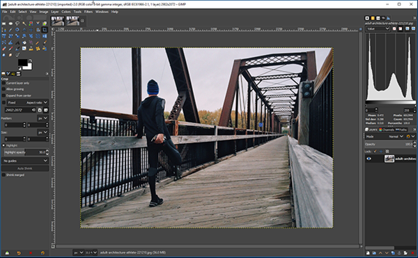 GIMP is one of the best alternatives to Polarr Photo Editor 2019.