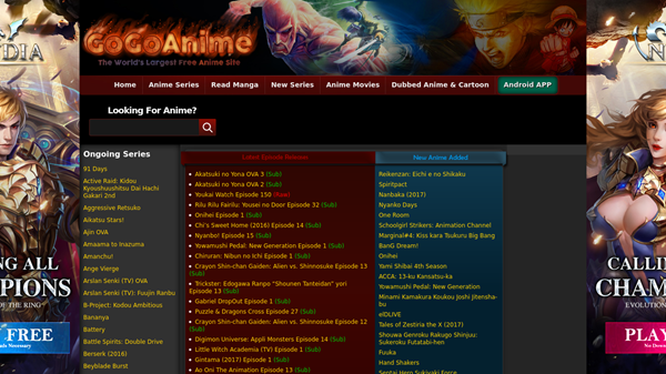 GoGoAnime is one of the best websites to Watch Cartoons and Animes Online for Free.