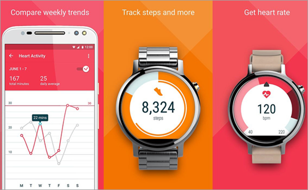 Google Fit is one of the best Free Android Fitness Apps.