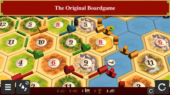 Catan Universe is one of best iOS Multiplayer Games for iPhone & iPad.