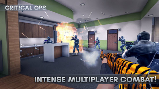 Critical Ops is one of best iOS Multiplayer Games for iPhone & iPad.