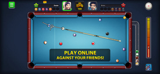8 Ball Pool is one of best iOS Multiplayer Games for iPhone & iPad.