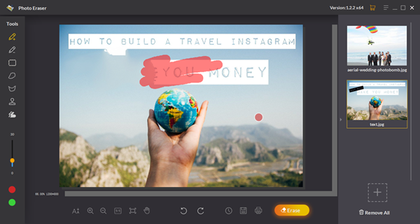 Jihosoft Photo Eraser is one of the best alternatives to Polarr Photo Editor 2019.