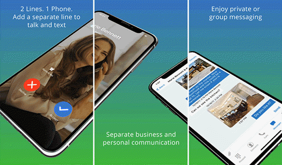 Line 2 is one of the best Call Forwarding Apps For iPhone.