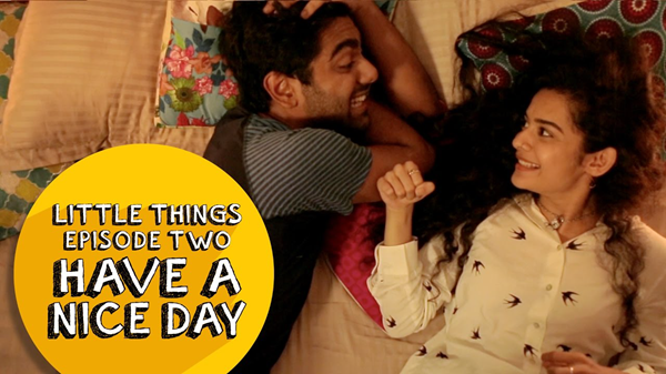 Little Things is one of best Indian Web Series on YouTube.