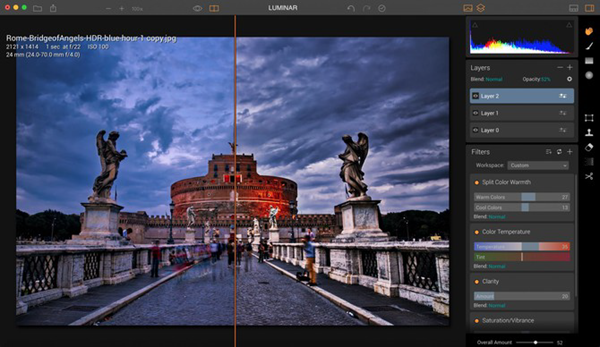 Luminar is one of the best alternatives to Polarr Photo Editor 2019.