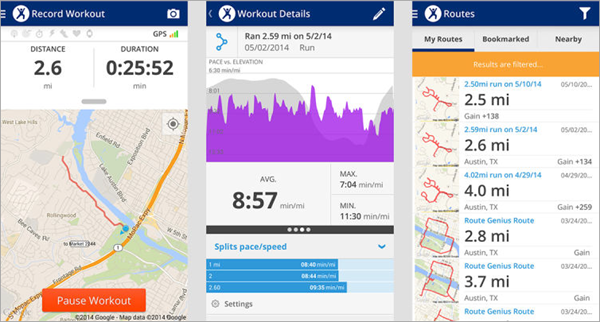 MapMyFitness Workout Trainer is one of the best Free Android Fitness Apps.