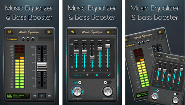 Equalizer Music Bass Boost is a free Equalizer and Bass Booster Apps for Android 2019.