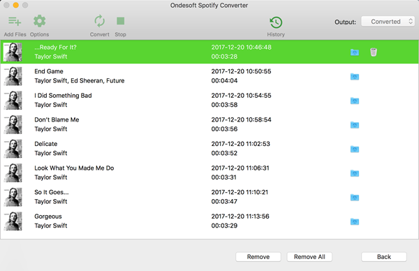 OndeSoft Spotify Converter is one of the Best Spotify Music Downloaders 2019.