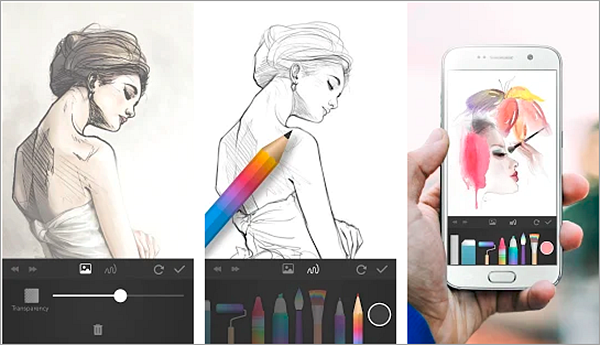 PaperDraw is one of the best free Drawings Apps For Creative Android Users.
