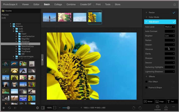 PhotoScape is one of the best alternatives to Polarr Photo Editor 2019.