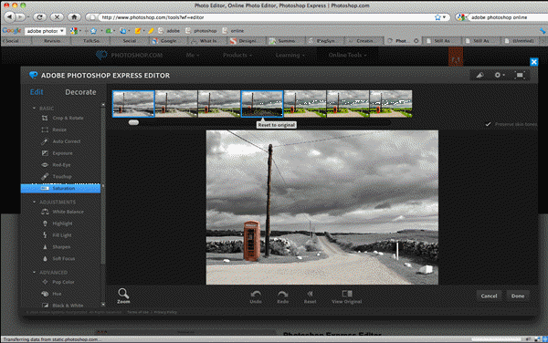 Photoshop Express is one of the 5 Best Free Photoshop Alternatives Online.