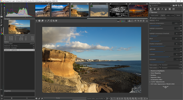 RawTherapee is one of the best alternatives to Polarr Photo Editor 2019.