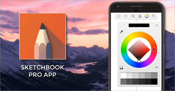 SketchBook is one of the best free Drawings Apps For Creative Android Users.