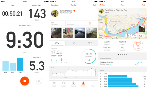 Strava GPS is one of the best Free Android Fitness Apps.