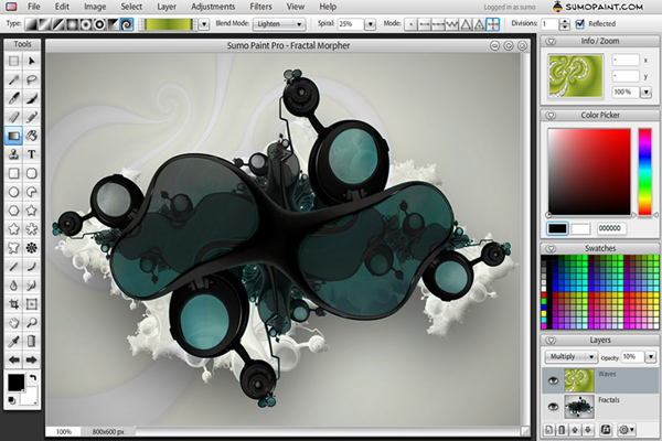 Sumopaint is one of the 5 Best Free Photoshop Alternatives Online.