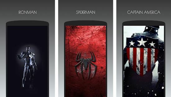 SuperHero Wallpapers HD by Team Avenger