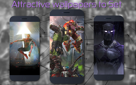 Superhero Wallpapers by Xtreme App