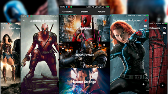 7 best superhero wallpaper apps for android