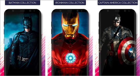 Superheroes Wallpapers HD & 4K