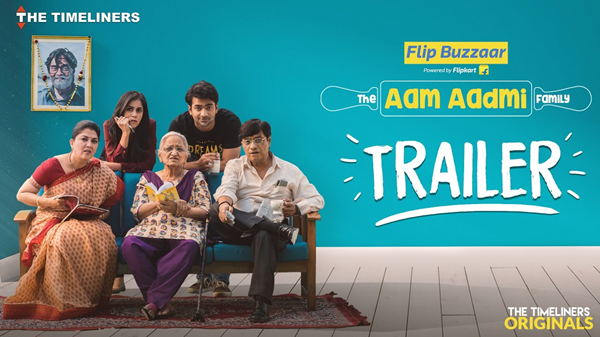 The Aam Aadmi Family is one of best Indian Web Series on YouTube.