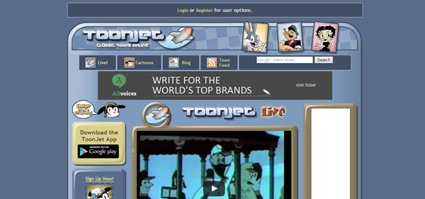 ToonJet is one of the best websites to Watch Cartoons and Animes Online for Free.