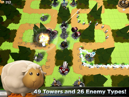 Tower Madness HD is one of best iOS Multiplayer Games for iPhone & iPad.