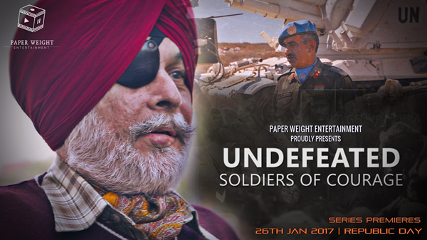 Undefeated - Soldiers of Courage is one of best Indian Web Series on YouTube.