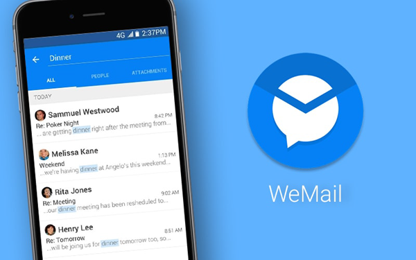 WeMail is one of the best free Android Email Apps.