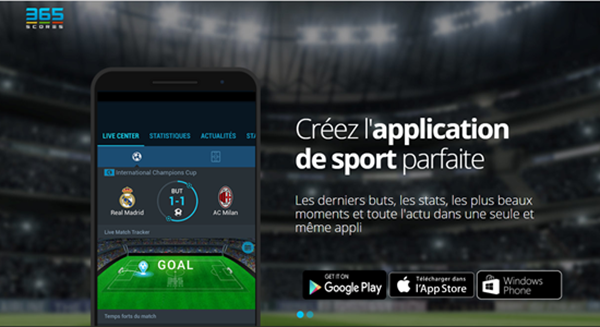 365Scores is one of best free Sports Streaming Apps for Android.