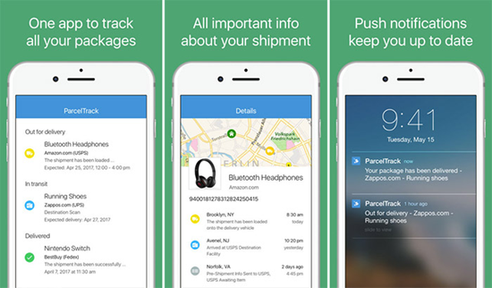 ParcelTrack is best Package & Shipment Tracking Apps for iPhone.