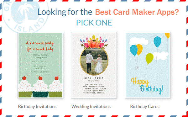 Best Android Apps for Wedding Cards Designing