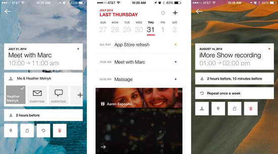 Cal is best free Calendar Apps for iPhone.
