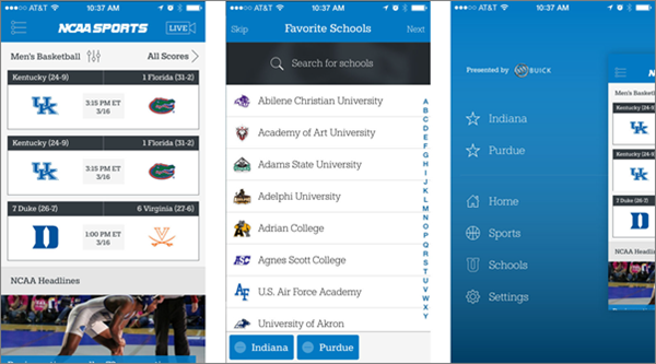 CBS Sports is one of best free Sports Streaming Apps for Android.