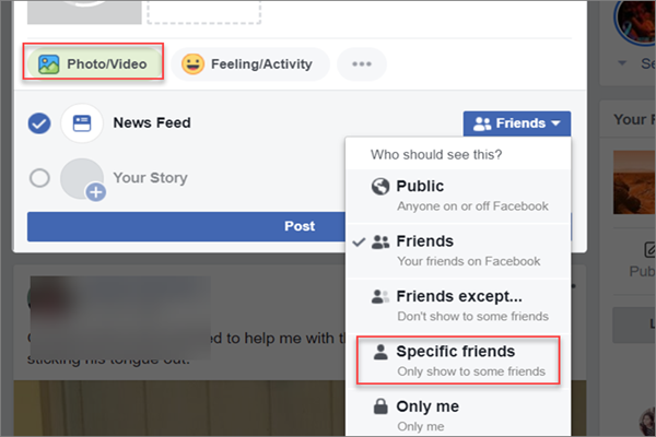 How to Share Private Videos on Facebook