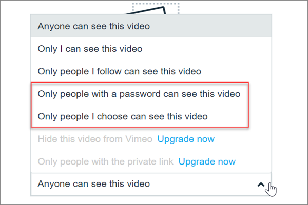 How to Share Private Videos on Vimeo