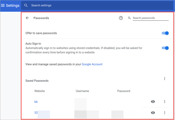 How to Save Password with Chrome Password Manager