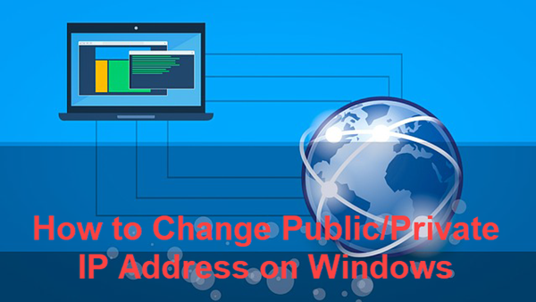 How to Change Public and Private IP Address