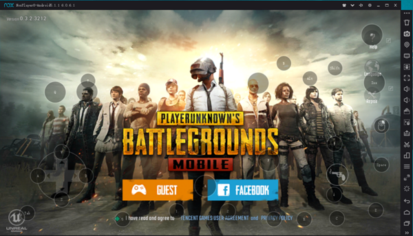 Nox Player is one of the best PUBG Android Emulators for PC.