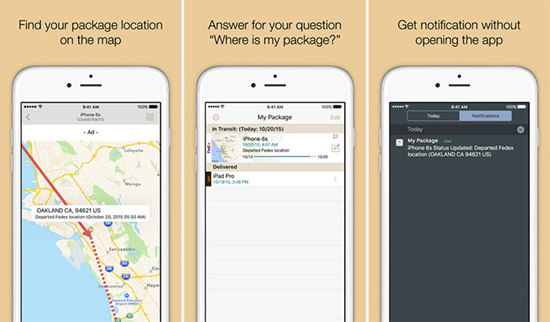 My Package is best Package & Shipment Tracking Apps for iPhone.