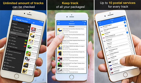 TrackChecker is best Package & Shipment Tracking Apps for iPhone.