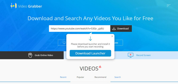 download youtube video with url online