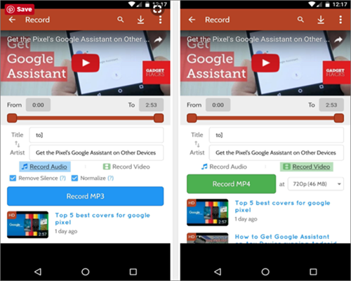 How to Download Music from Youtube to Android